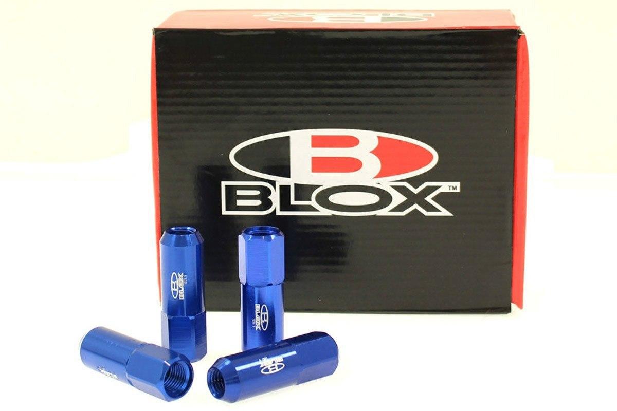 Nakrętki Blox Replica 60mm M12x1.25 Blue - GRUBYGARAGE - Sklep Tuningowy